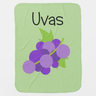 Manta De Bebe Uvas (uvas)