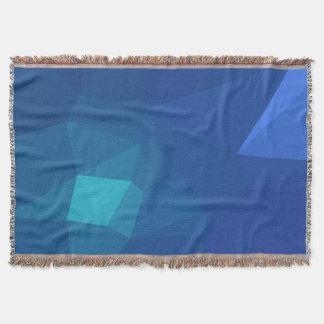 Manta Design abstrato & limpo de Geo - flor do rio