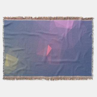 Manta Design abstrato & limpo de Geo - por do sol do