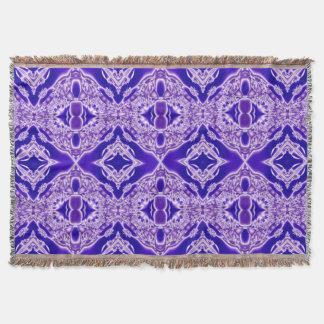Manta Design de cristal roxo abstrato