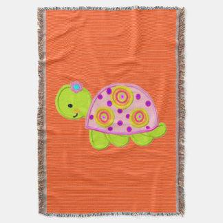 Manta design do modelo da tartaruga