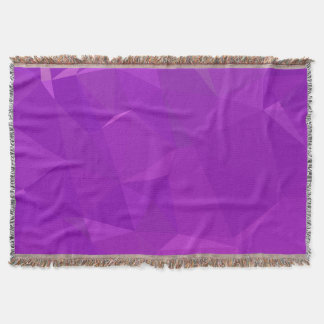 Manta Design geométrico abstrato de LoveGeo - violeta de