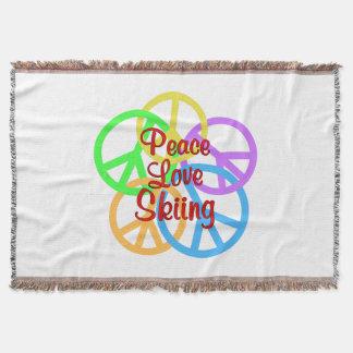 Manta Esqui do amor da paz