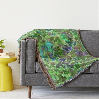 Manta Folhas de outono modeladas abstrato