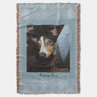 Manta Foto customizável do animal de estimação do cão