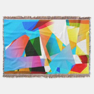Manta fractal abstrato do design