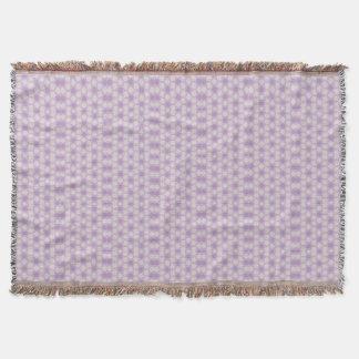 Manta Fractal geométrico dos roxos bonito