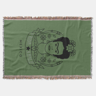 Manta Frida Kahlo | Heroína