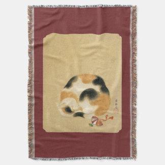 Manta Gato de chita japonês, Hanabusa Itchō