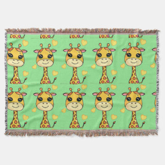 Manta Girafa do bebê de Cutsie