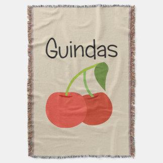 Manta Guindas (cerejas)