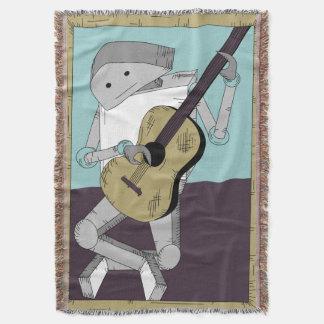 Manta Guitarrista do robô