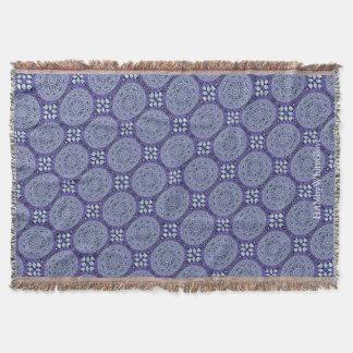 Manta HAMbyWG - cobertura do lance - mandalas violetas