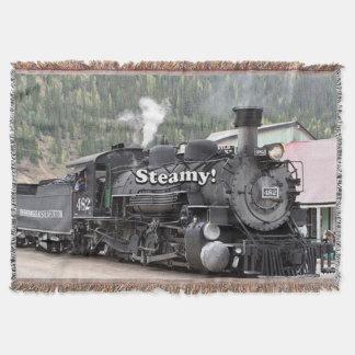 Manta Húmido!: motor do trem do vapor, Colorado, EUA