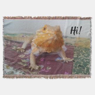 Manta Impressão farpado bonito da foto do dragão