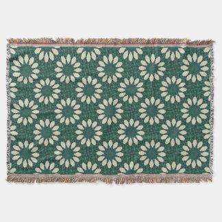Manta Mandala. da folha verde e de prata de Sacramento
