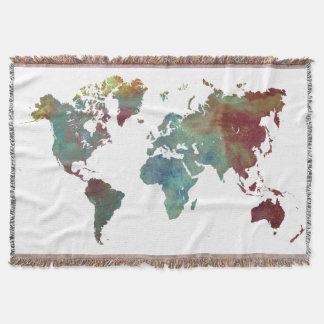 Manta mapa da palavra após a obscuridade