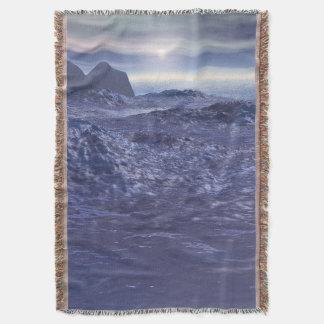 Manta Mar congelado de Netuno