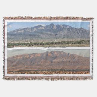 Manta Montanhas de Sandia em Bernalillo New mexico