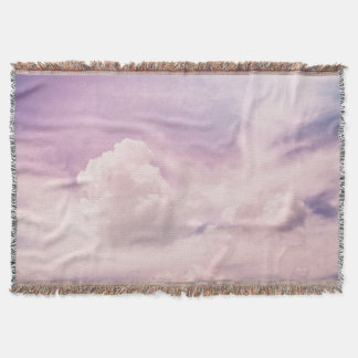 Manta Nuvens roxas celestiais