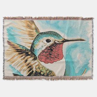 Manta O colibri bonito da costela