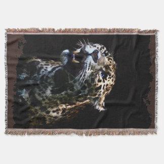 Manta O gato grande Jaguar manchou animais selvagens da