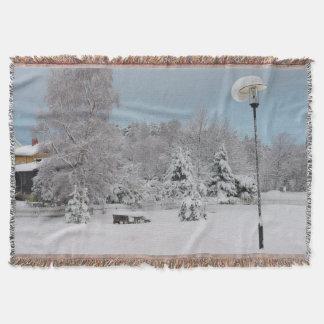 Manta País das maravilhas do inverno