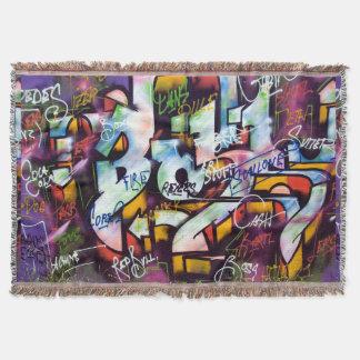 Manta Palavras coloridas dos grafites