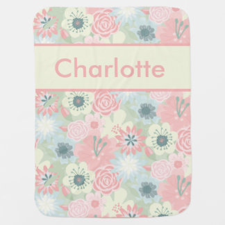 Manta Para Bebe A cobertura personalizada de Charlotte