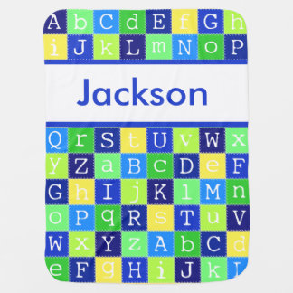 Manta Para Bebe A cobertura personalizada de Jackson