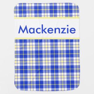 Manta Para Bebe A cobertura personalizada de Mackenzie