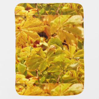 Manta Para Bebe Amor amarelo da cor do outono