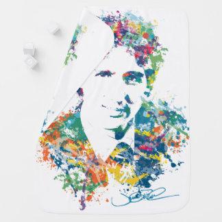 Manta Para Bebe Arte de Justin Trudeau Digital