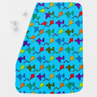 Manta Para Bebe Aviões & papagaios II