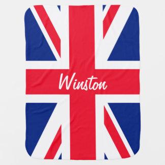 Manta Para Bebe Bandeira britânica BRITÂNICA de Union Jack