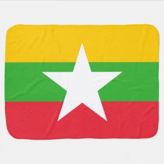 Manta Para Bebe Bandeira de Burma