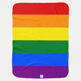 Manta Para Bebe Bandeira do arco-íris