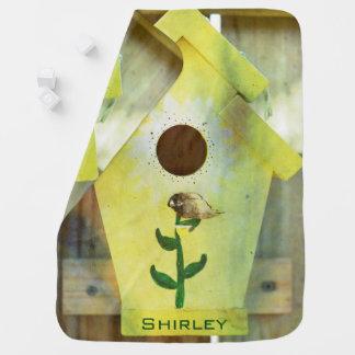 Manta Para Bebe Birdhouse por Shirley Taylor