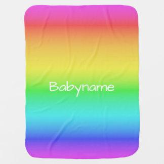 Manta Para Bebe Cobertura conhecida feita sob encomenda do bebê do