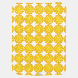 Manta Para Bebe Cobertura da bola de pólo aquático - amarelo