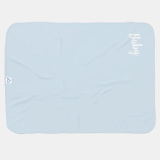 Manta Para Bebe Cobertura de azuis bebés de Geo