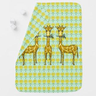 Manta Para Bebe Cobertura do bebê do girafa