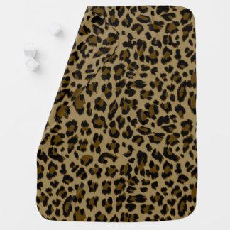 Manta Para Bebe Cobertura do bebê do impressão do leopardo