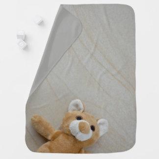 Manta Para Bebe Cobertura do bebê do mármore do urso de ursinho