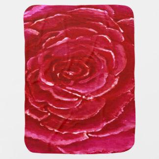 Manta Para Bebe Cobertura do bebê do rosa do rosa