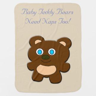 Manta Para Bebe Cobertura do bebê do urso de ursinho