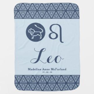 Manta Para Bebe Cobertura do bebê do zodíaco de Leo