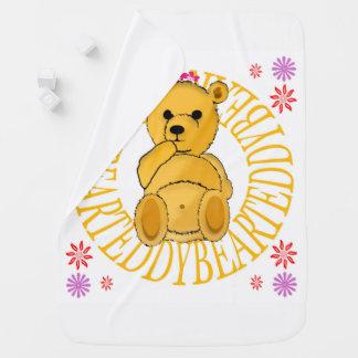 Manta Para Bebe Cobertura do lance do urso de ursinho