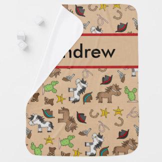 Manta Para Bebe Cobertura do vaqueiro de Andrew