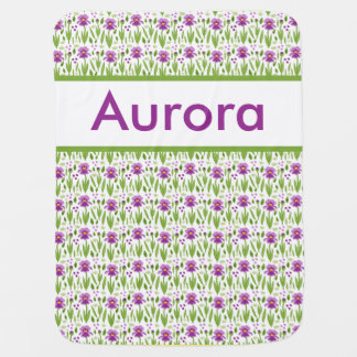 Manta Para Bebe Cobertura personalizada da íris da Aurora